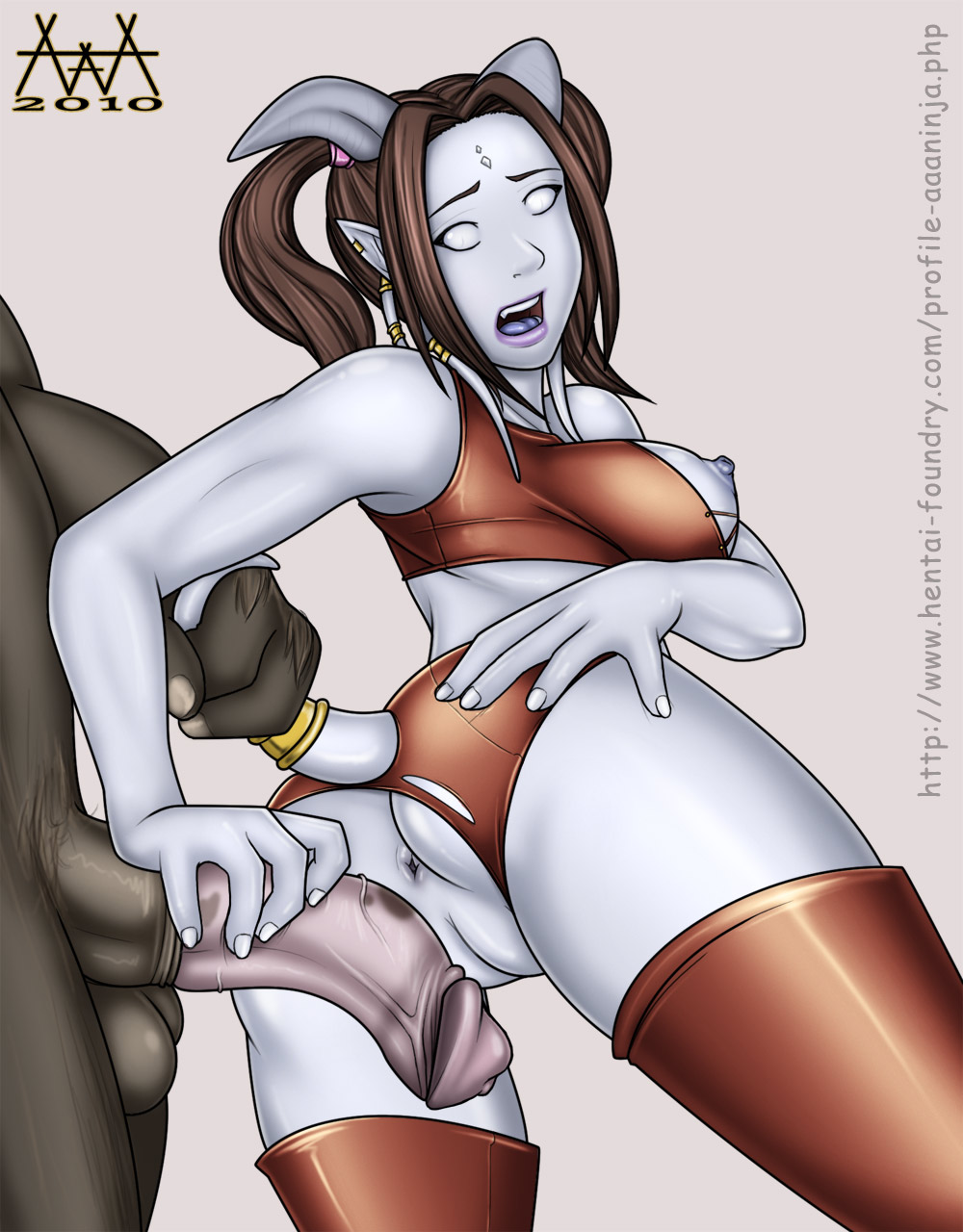 of world porn warcraft draenei Mother and son