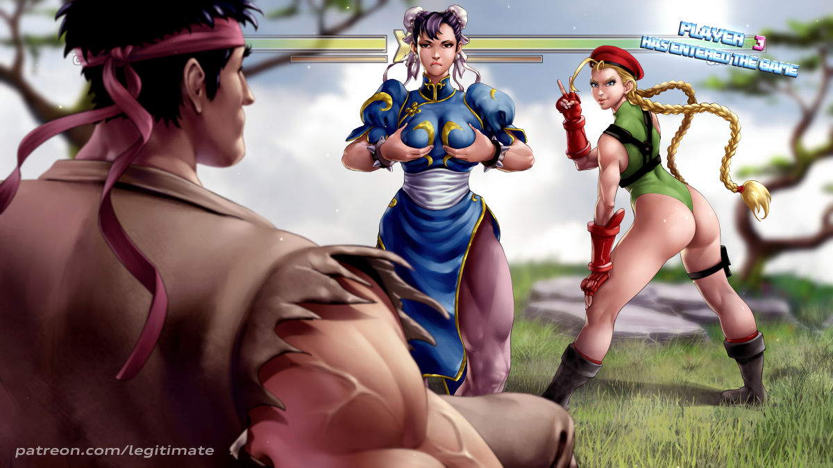 white street cammy 5 fighter Yuda fist of the north star