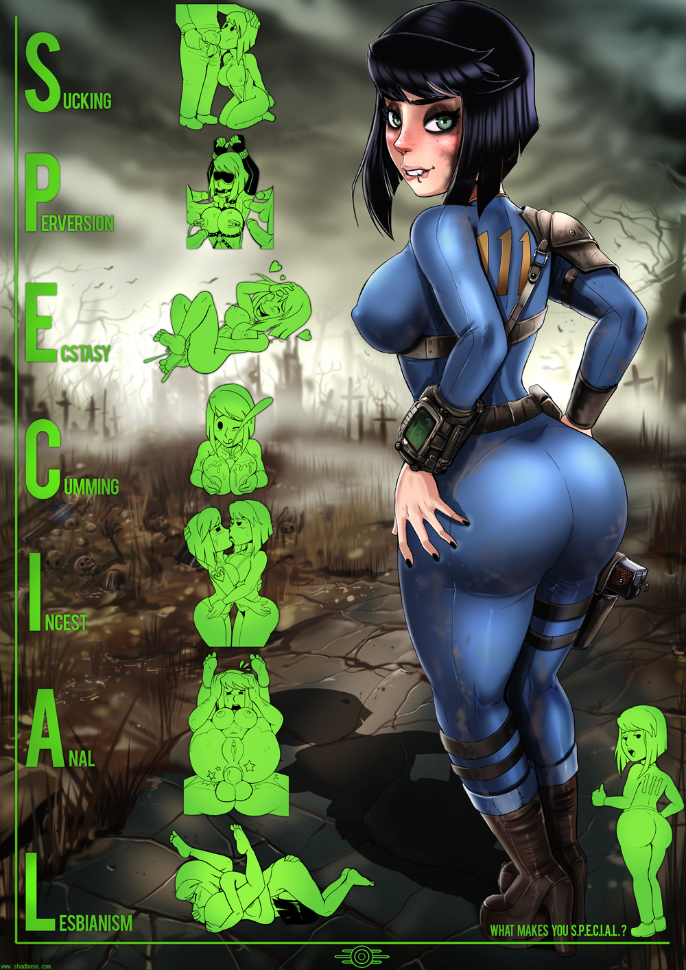 4 75 fallout jumpsuit vault Small but hung