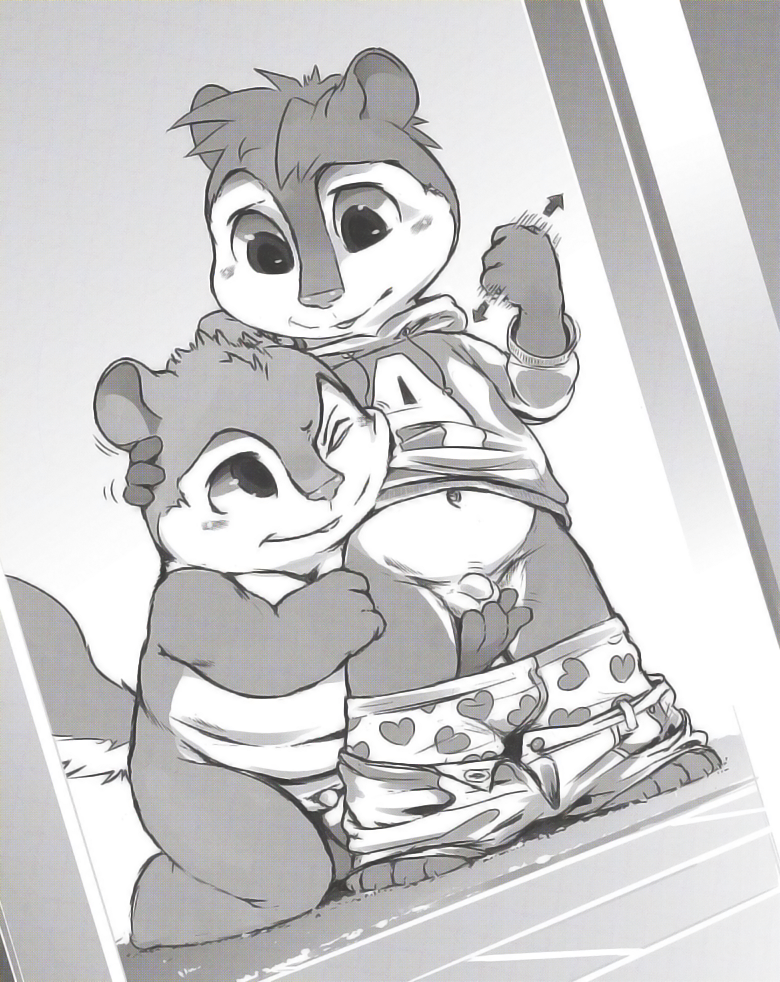 chipmunks glasses the alvin and Bendy and the ink machine bendy cute