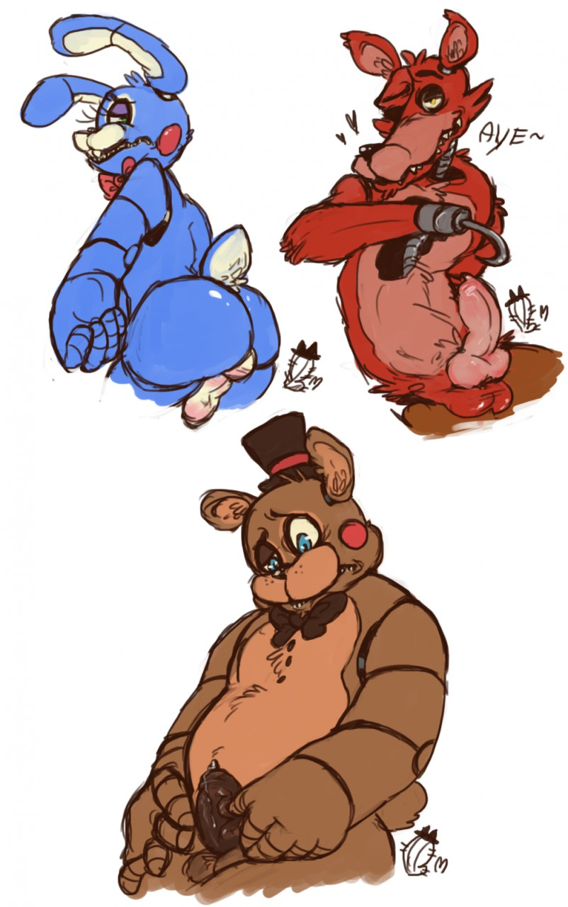 at five animated nights freddy's Perry the platypus