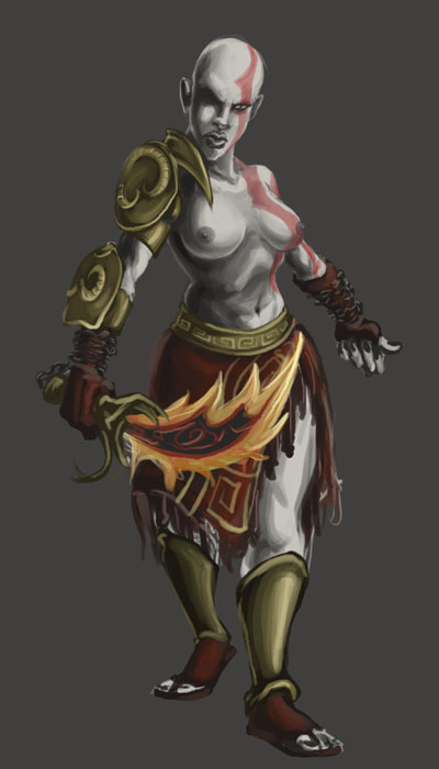god witch of war 4 Naleen trials in tainted space