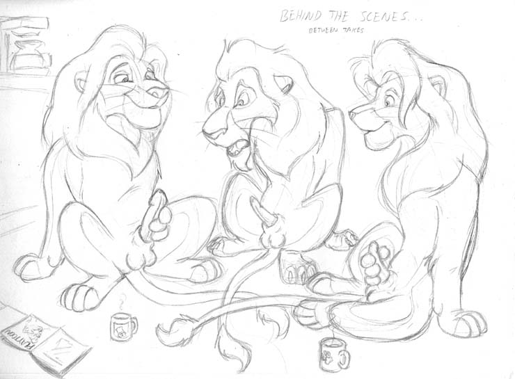 the lion guard The secret life of suckers
