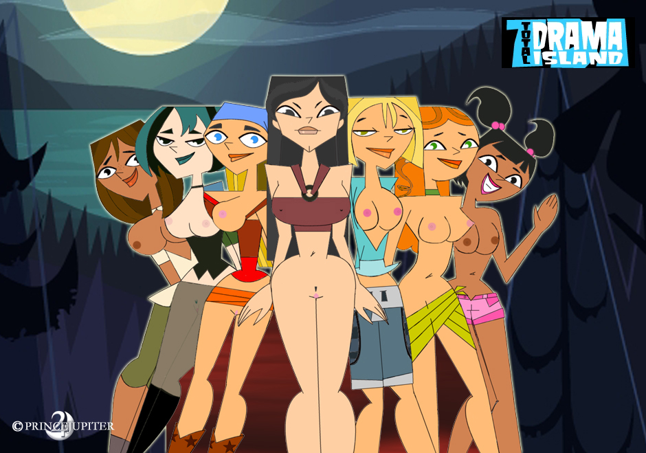 island characters naked total drama Cheesecakes-by-lynx